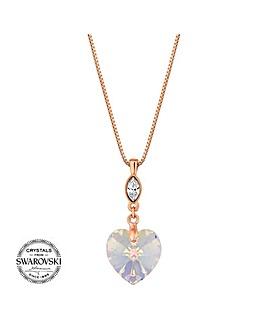 Jon Richard Swarovski crystal necklace