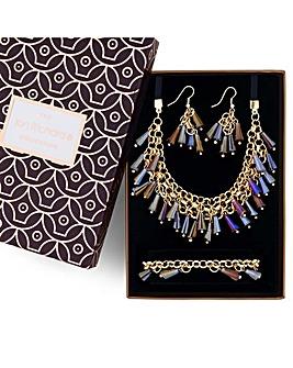Jon Richard bead shaker jewellery set