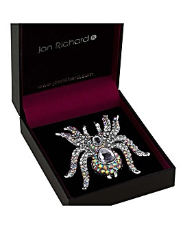 Jon Richard statement spider brooch