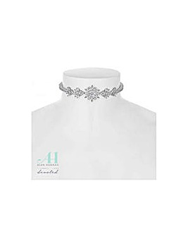 Alan Hannah floral choker necklace