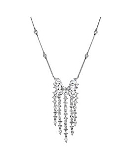 Jon Richard silver droplet necklace