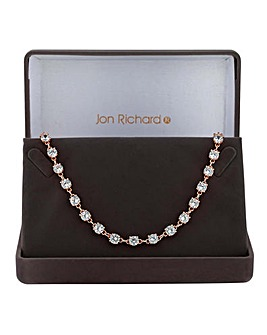 Jon Richard tennis link necklace