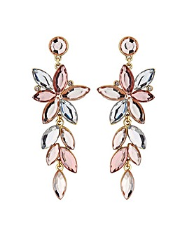 Mood Crystal Navette Drop Earring