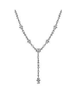 Jon Richard silver droplet y necklace