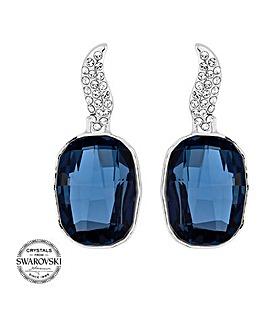 Jon Richard Swarovski crystal earring