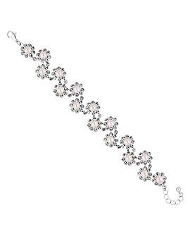 Jon Richard floral pearl bracelet
