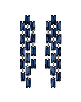 Jon Richard crystal drop earring