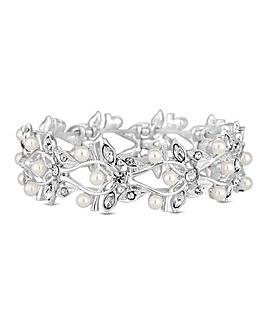 Alan Hannah pearl leaf bracelet