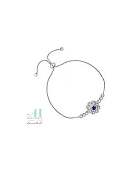 Alan Hannah floral toggle bracelet
