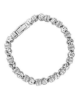 Jon Richard crystal square bracelet