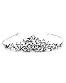 Jon Richard floral crystal tiara
