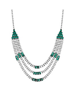 Jon Richard crystal statement necklace