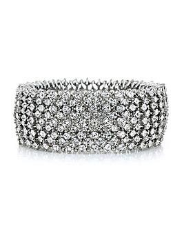 Mood Crystal Cuff Bracelet