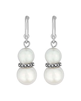 Jon Richard pearl droplet earring