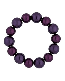Jon Richard purple pearl bracelet