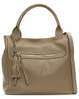 Daniel Marquee Large Tassel Shoulder Bag