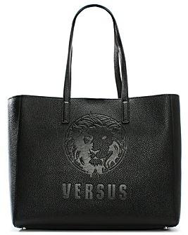 Versus Versace Pura Leather Shopper Bag