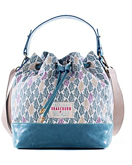 Brakeburn Autumn Leaf Bucket Bag