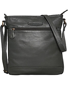 Brakeburn Leather Large Saddle Bag