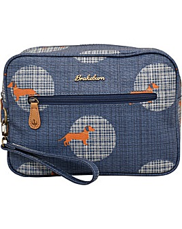 Brakeburn Sausage Dog Large Wash Bag