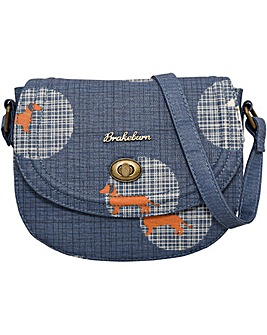 Brakeburn Sausage Dog Small Saddle Bag