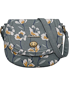Brakeburn Floral Small Saddle Bag