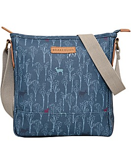 Brakeburn Deer Textured Cross Body
