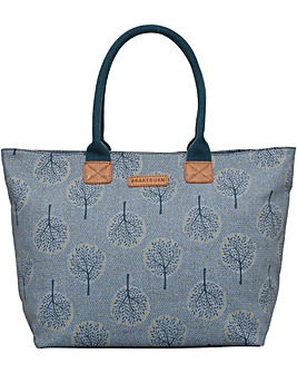 Brakeburn Trees Large Handbag