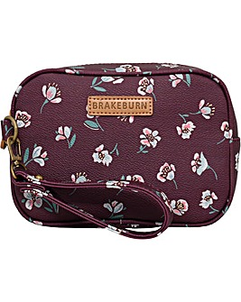 Brakeburn Floating Floral Small Wash Bag