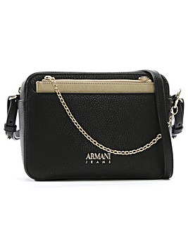 Armani Jeans Detachable Cross Body Bag