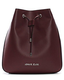 Armani Jeans Eco Leather Bucket Bag