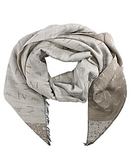 Armani Jeans Thick Winter Scarf