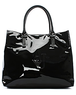 Armani Jeans XL Eco Leather Shopper Bag