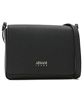 Armani Jeans Paper Clip Shoulder Bag