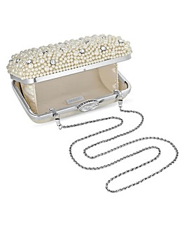 Jon Richard Pearl Embellished Bag