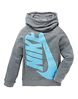 Nike Older Girls Funnel Neck Hoodie