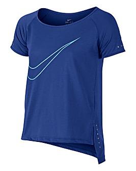 Nike Older Girls Dry Fit Side Tie T-Shir