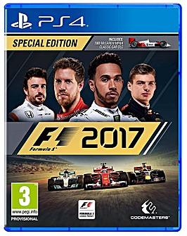 F1 2017 Formula 1 PS4