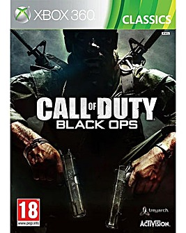 Call Of Duty Black Ops Classic Xbox 360