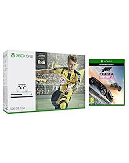 XBOX ONE FIFA 17 500GB + Forza Horizon3