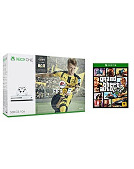XBOX ONE FIFA 17 500GB + GTA V