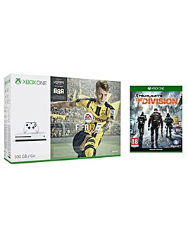 XBOX ONE FIFA 17 500GB + The Division