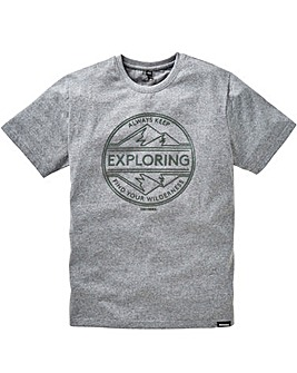 Snowdonia Slogan T-Shirt Long