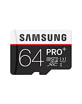 Samsung MicroSDXC 64GB Pro Plus