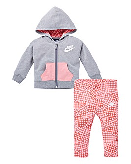 Nike Baby Girl Futura Hood And Pant Set