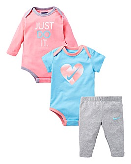 Nike Baby Girls Bodysuit And Leggings Se