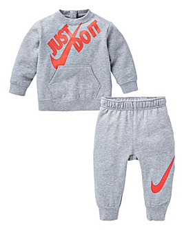 Nike Baby Boys Crew And Joggers Set