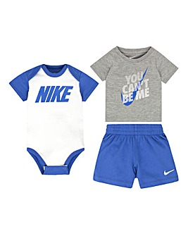 Nike Baby Boy Bodysuit And Shorts Set