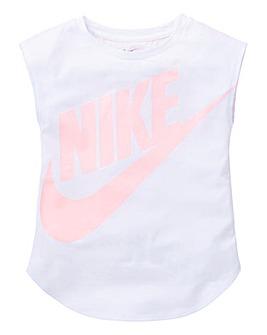 Nike Young Girls Mesh Futura Modern T-Sh