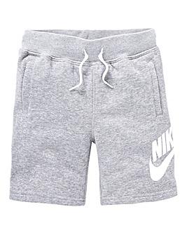 Nike Younger Boys Alumni Fleece Short